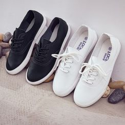 Ritto - Couple Matching Canvas Lace-Up Shoes