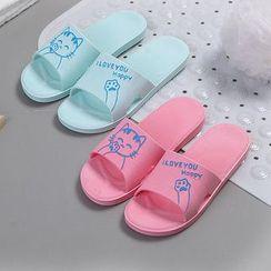 Homy Bazaar - 小貓拖鞋