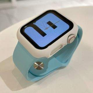 Phone in the Shell - Plain Silicone Apple Watch Band