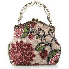 Moonflower - 花样刺绣珠饰手包