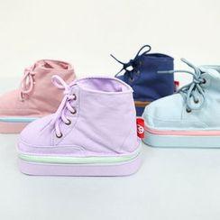 BABOSARANG - Contrast-Zip Sneaker Pouch (S)