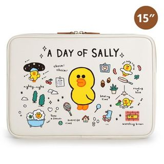 BABOSARANG - 'LINE FRIENDS' Illustration 15' Laptop Pouch