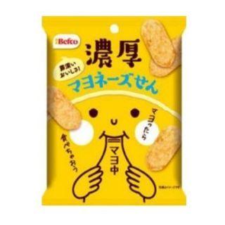 Three O'Clock - Befco Rich Mayonnaise Flavored Rice Cracker 45g