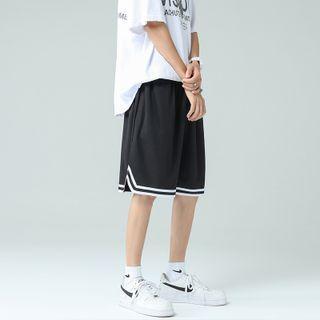 YERGO - Contrast Trim Shorts