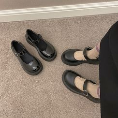 Hipsole - Ankle Strap Platform Mary Jane Shoes