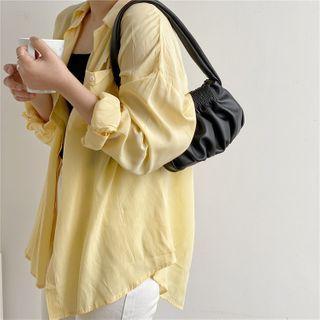 Neztra - Shirred Mini Hand Bag