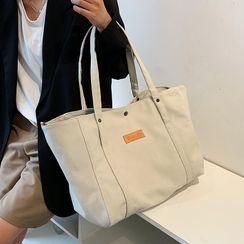 Libra - 纯色帆布手提袋
