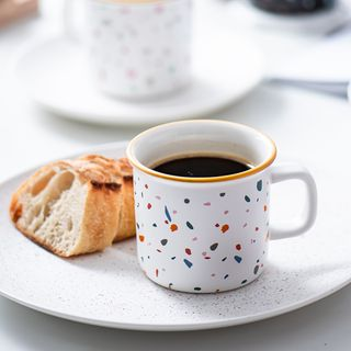 Ms Zaa - Printed Ceramic Drinking Cup