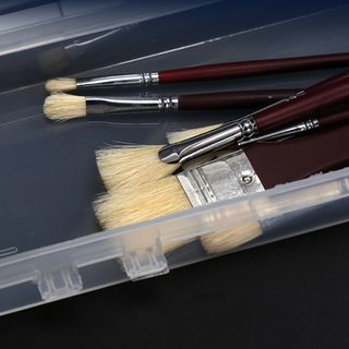 Sorah - 透明塑胶画笔盒
