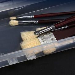 Sorah - Transparent Plastic Paint Brush Case