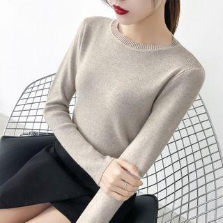 Norte - Plain Knit Top
