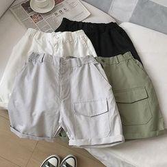 Newise(ニュワイズ) - Couple Matching Cargo Shorts