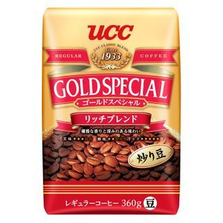 UCC - Gold Special Rich Blend Coffee Beans 360g