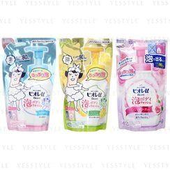 Kao - Biore U Bubble Body Wash Refill 480ml - 3 Types