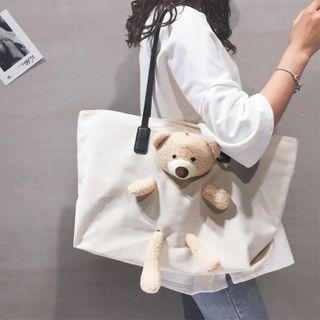 Little Days - Plush Bear Tote Bag