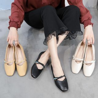 Inanna - Knot Accent Slip-on Flats