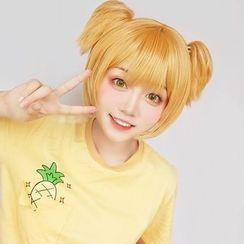Macoss - Pop 子和 Pipi 美的日常 Pop 子角色扮演假髪