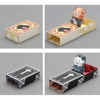 Kamikara - Paper Craft: Secret Match Box