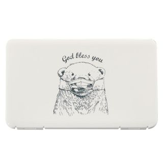 HALAHOME - Polar Bear Print Mask Case