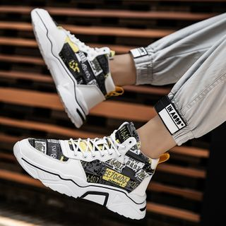 Signore - Numbering High-Top Sneakers