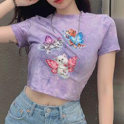 Cincine - Short-Sleeve Printed T-Shirt