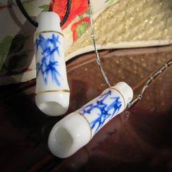 Townlet - 情侶款陶瓷吊墜項鏈