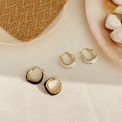 Infini - Glaze Hoop Earring