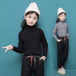 Pegasus - Kids Set: Turtleneck Sweater + Harem Jeans