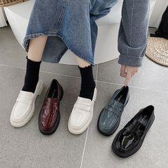 時尚麥樂 - 厚底樂福鞋