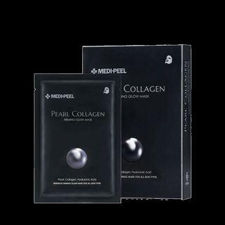 MEDI-PEEL - Pearl Collagen Firming Glow Mask Set
