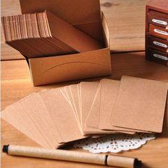 Tivi Boutique - Kraft Paper Memo Pad / Card