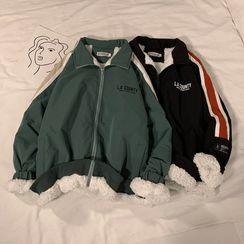 Breeson - Couple Matching Fleece Lined Zip Jacket