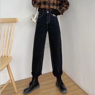 Walzee - 九分直筒牛仔裤