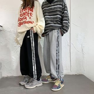 SHIN Shop - 情侣款运动裤
