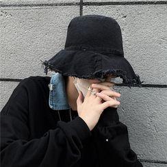 Koiyua - Fringed Trim Bucket Hat