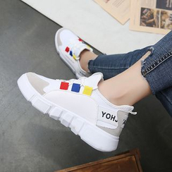 Shanhoo - Sneakers bicolores