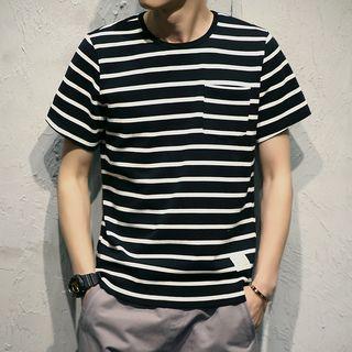 Kieran - Striped Short-Sleeve T-Shirt