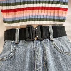 Ayame - Canvas Buckled Belt