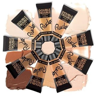 RUDE - Double Trouble Foundation + Concealer (9 Shades), 30ml