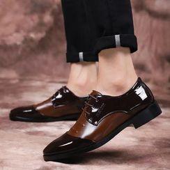 MARTUCCI - Panel Lace-Up Shoes