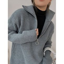 NDZ - Mock-Neck Sweater