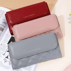 tablarosa - Plain Trifold Long Wallet
