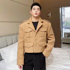 Patow - Cropped Single-Breasted Cargo Blazer