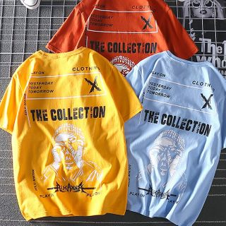 Dragondra - Printed Short Sleeve T-Shirt