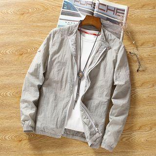 Carser - 薄款拉链外套