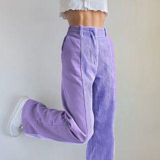 Honet - Corduroy Wide Leg Pants