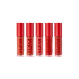 EGLIPS - Matte Fit Lip Lacquer - 5 Colors