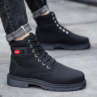 HANO - Lace-Up Short Boots