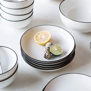 Modern Wife - Ceramic Food Tray / Bowl / Spoon