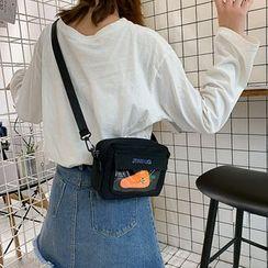 BAGSHOW - 帆布斜挎包